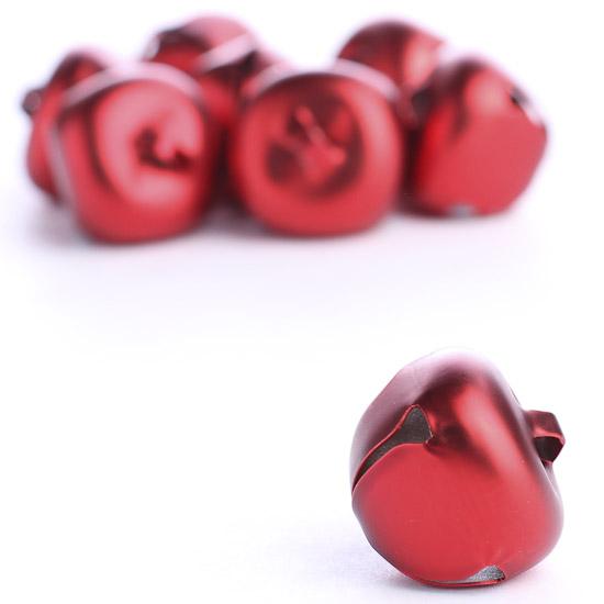 Matte Red Jingle Bells - Bells - Basic Craft Supplies ...