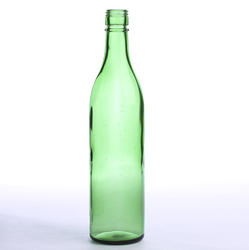 Vintage Thick Green Glass Bottle from Factory Direct Craft