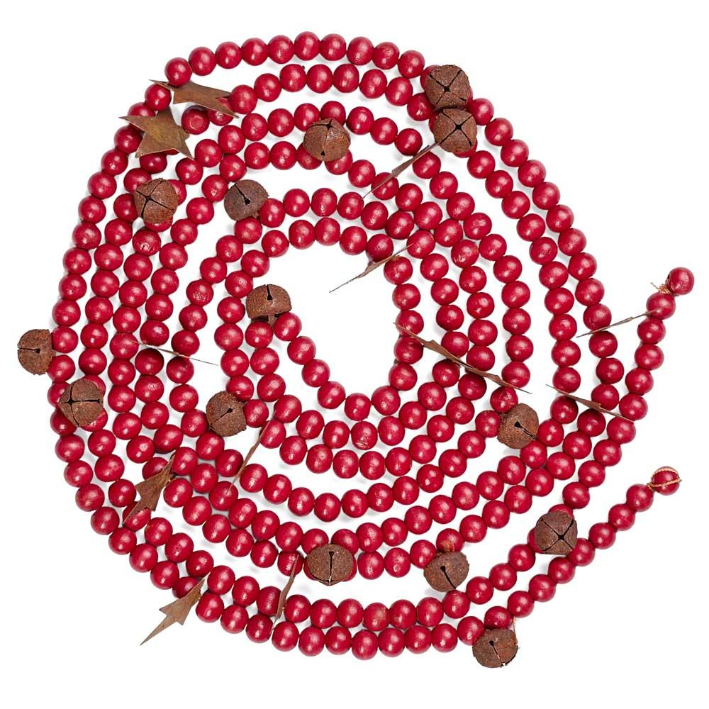 Find great deals on eBay for Red Wooden Bead Garland in Christmas Garland. Shop with confidence.