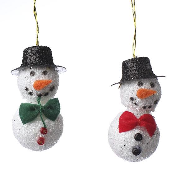 Miniature Snowman Ornaments Christmas Ornaments