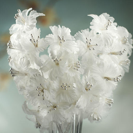 Ivory Silk And Pearl Floral Sprays Wedding Sale Sales