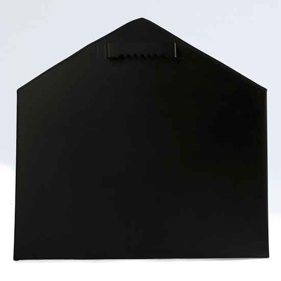 Metal Envelope Wall Decor : Chalkboard finish metal envelope wall decor home