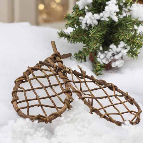 Grapevine Craft Snowshoes