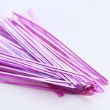 Pink Iridescent Twist Ties