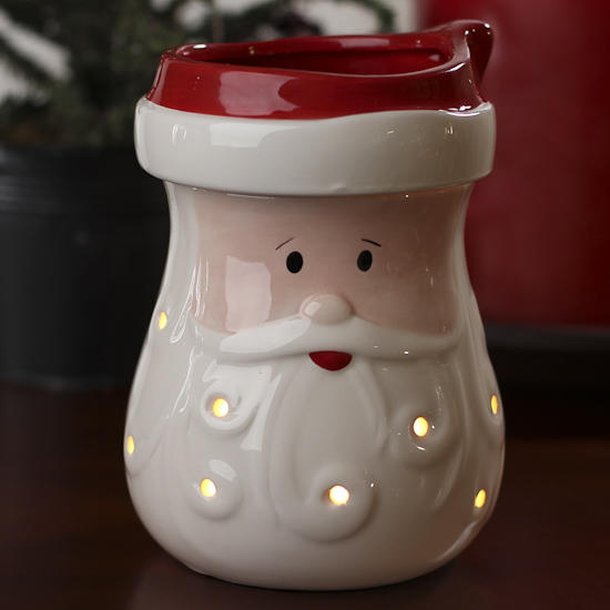 Electric Santa Tart Warmer Candles And Accessories