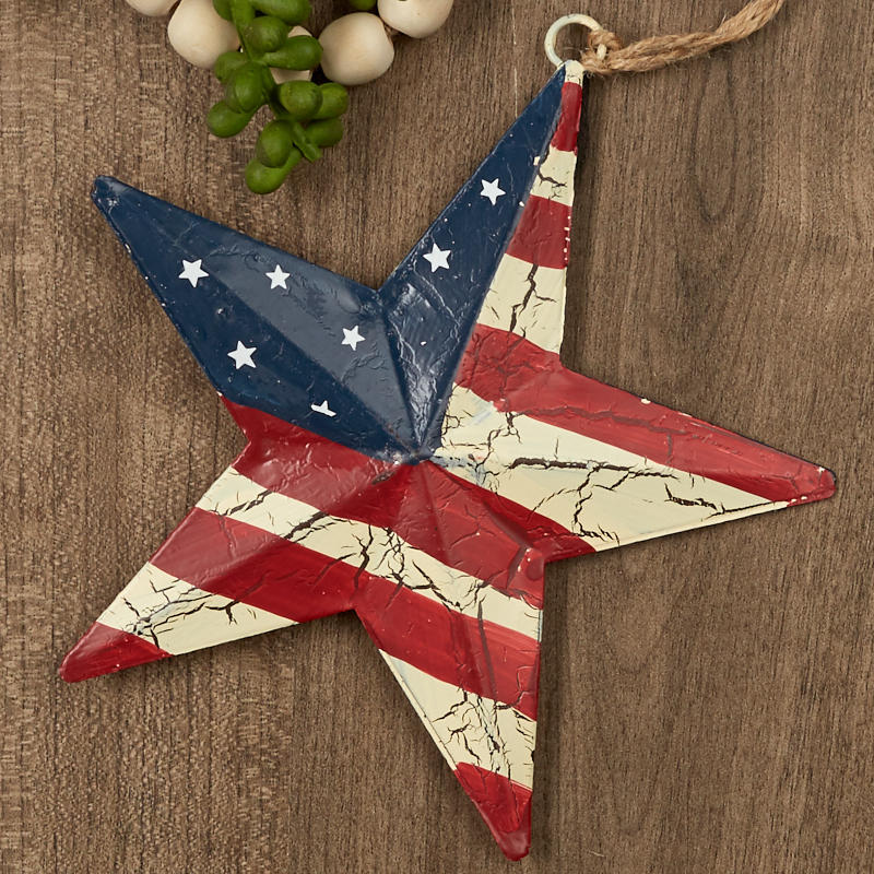 Primitive Americana 3D Barn Star Americana Decor Home