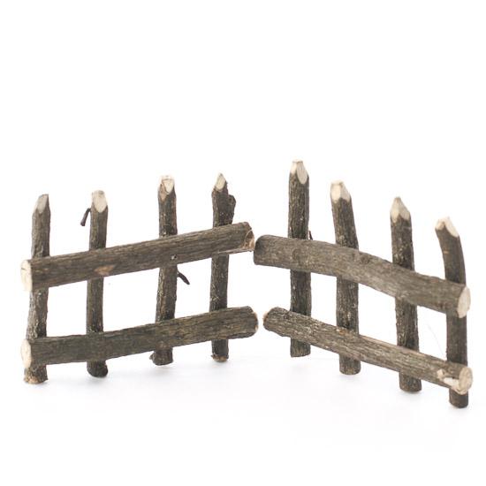 Miniature Rustic Twig Fence