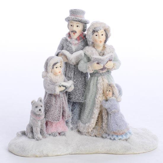 Miniature Victorian Carolers Figurine Christmas