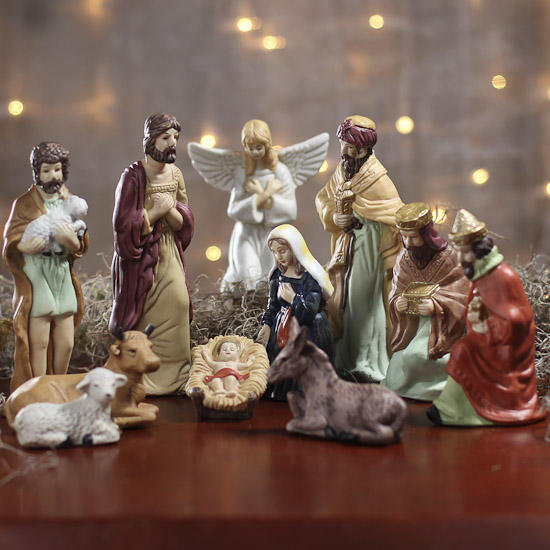 Best christmas nativity figurines porcelain