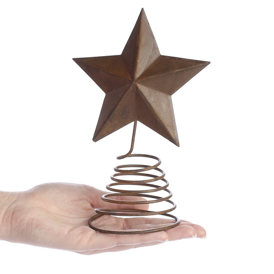 compare size - Christmas Tree Topper Star