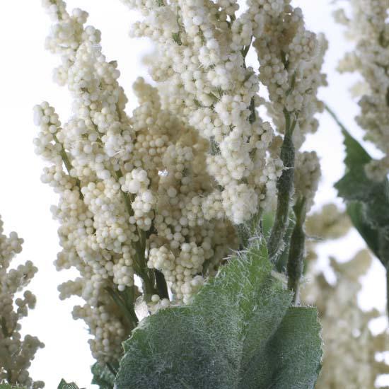 Soft Cream Artificial Astilbe Bush Floral Sale Sales