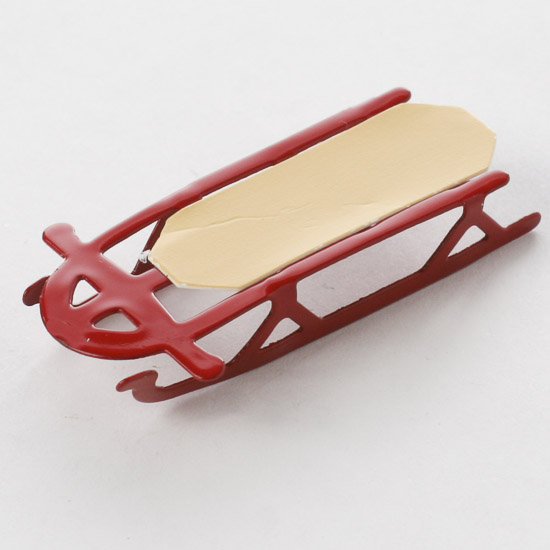 Miniature Sled What S New Dollhouse Miniatures Doll