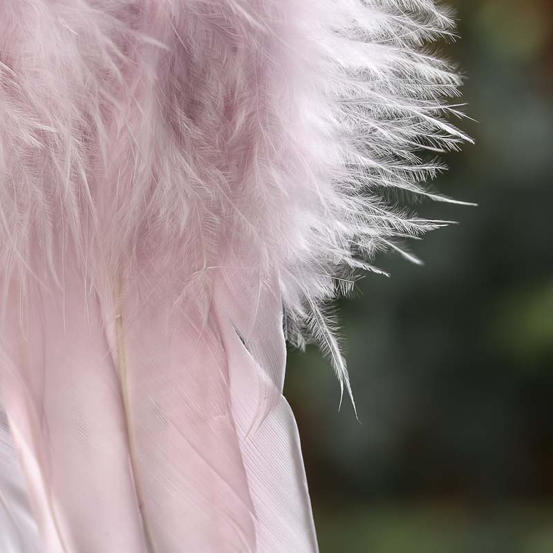 Light Pink Feather Angel Wings Angel Wings Doll Making