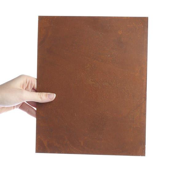 Primitive Rusty Tin Sheet Rusty Tin Cutouts Basic