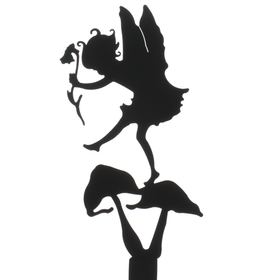 Ridiculous image in printable fairy silhouettes