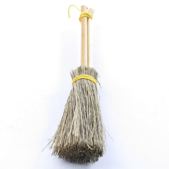 Miniature Natural Straw Broom New Items