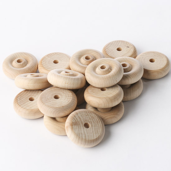 Wooden Toy Parts Catalog : Unfinished wood toy wheels wooden