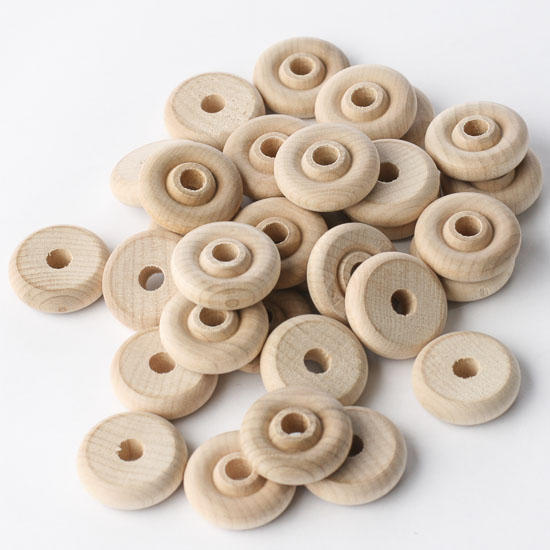 ... Toy Wheels - Wooden Toy Wheels - Unfinished Wood - Craft Supplies