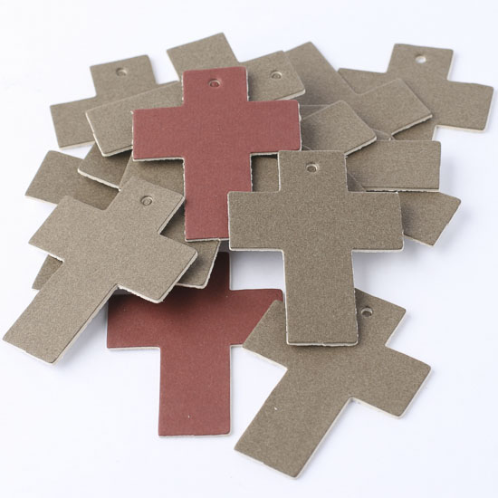 Paper cardstock crosses scrapbooking craft supplies for Cardboard crosses for crafts