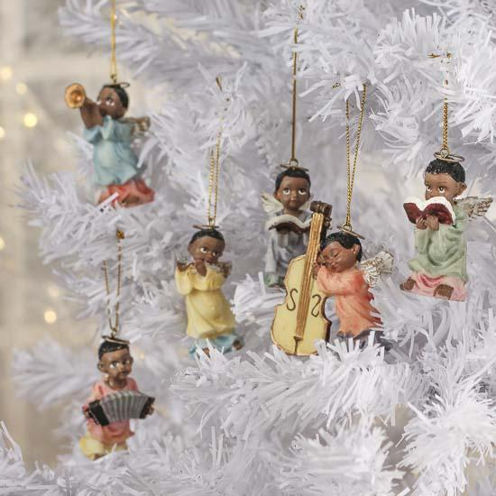 click here for a larger view - African American Christmas Decorations