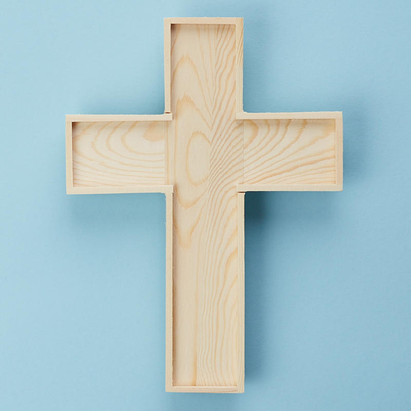 Unfinished Wood Wall Cross - Wood Cutouts - Wood Crafts - Hobby ...