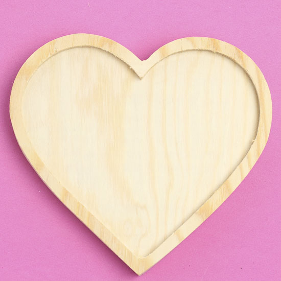 Unfinished wood heart wooden plaques and signs for Wooden hearts for crafts