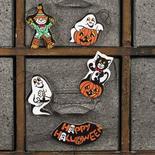 Set of Wood Halloween Minis