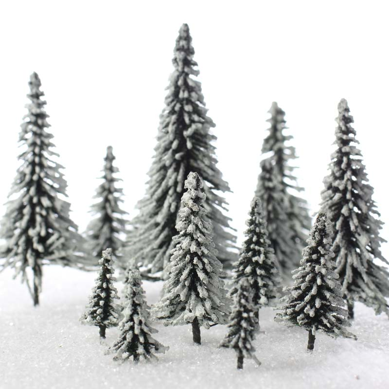 Frosted Artificial Christmas Tree