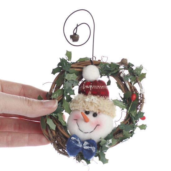 primitive snowman grapevine wreath christmas ornaments christmas and winter holiday crafts - Grapevine Garland Christmas Decorations