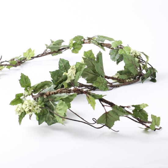 Artificial trailing vines greenery garland artificial for Artificial hops decoration