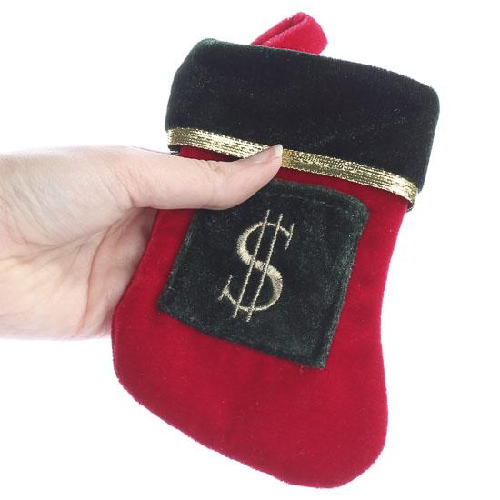 Christmas Money Stocking - Christmas Ornaments - Christmas ...