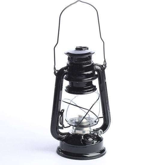Railroad Lantern Centerpiece : Black real working railroad lantern western theme