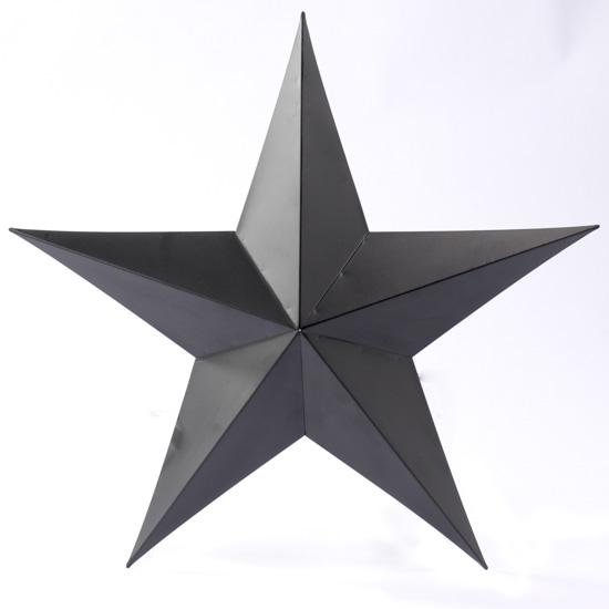 15 Quot Primitive Black Tin Barn Star Barn Stars Primitive