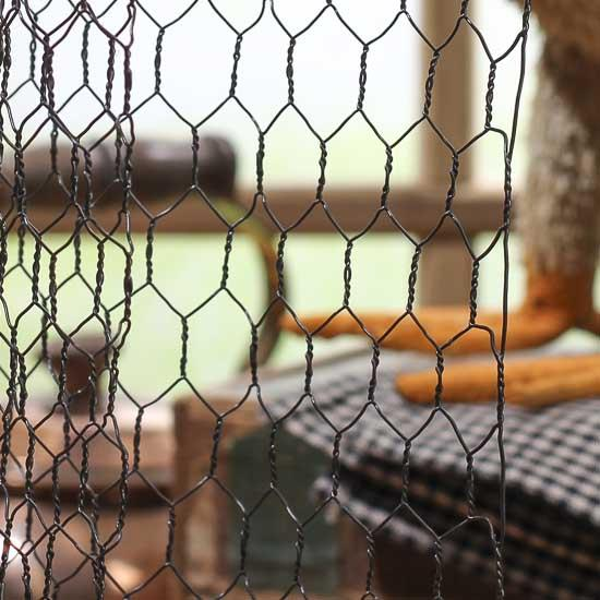 Rustic Chicken Wire Netting