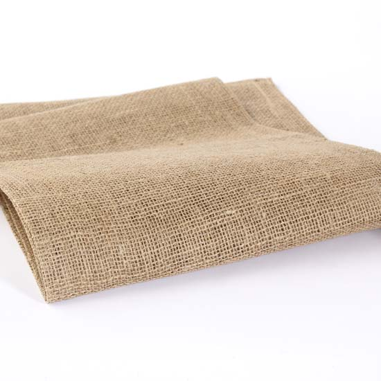 ... Woven Jute Burlap Table Runner - Textiles and Linens - Home Decor