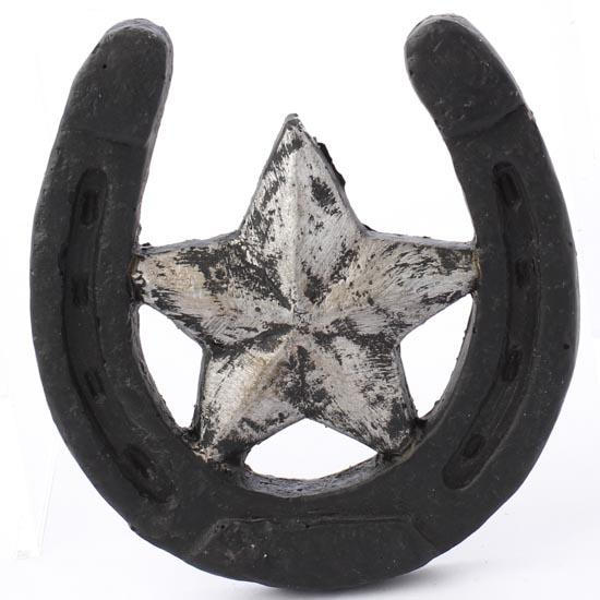 Paper clay horseshoe ornament christmas ornaments for Wholesale horseshoes for crafts