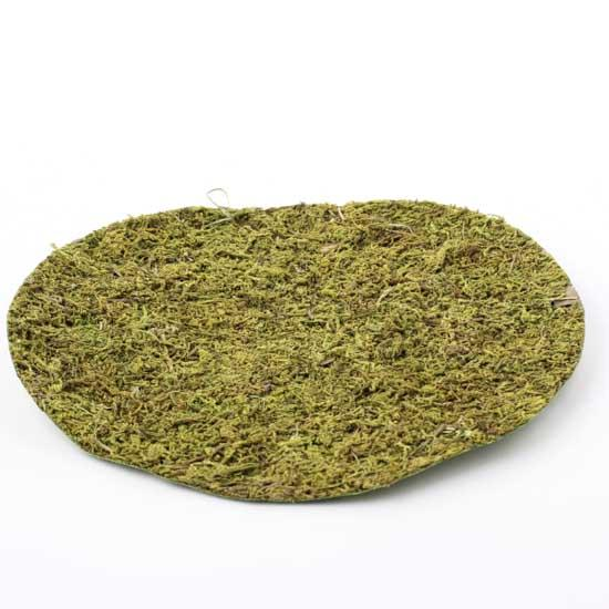 Artificial Round Moss Mat