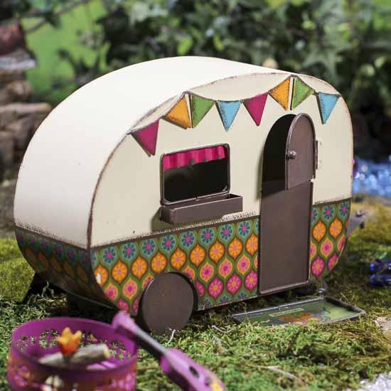 Vintage Inspired Fairy Garden Camper What S New
