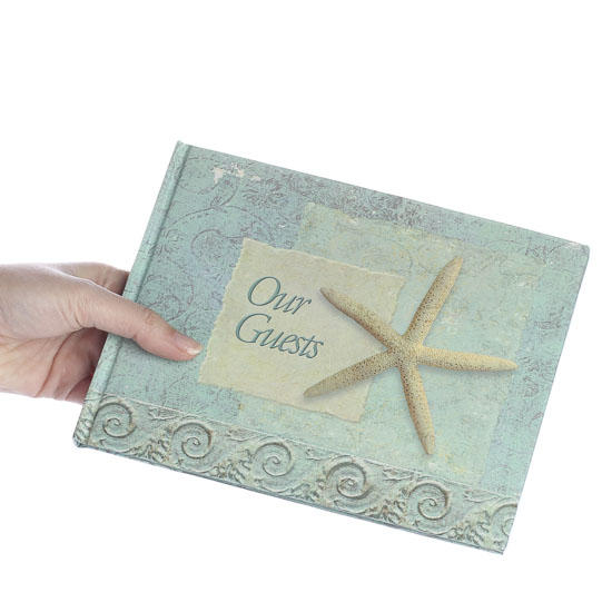 seashore our guests beach theme guest book wedding sale sales