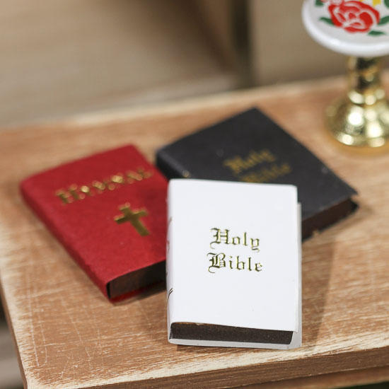 miniature holy bibles and hymnal set - Western Wedding Catalog