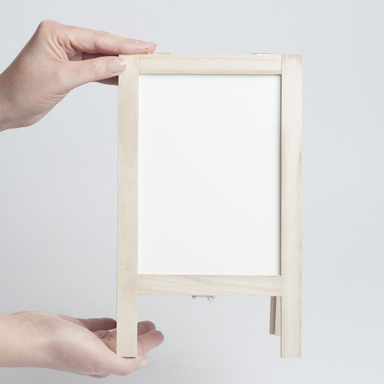 Small Murano Mirror With Easel ·  Https://factorydirectcraft.com/pimages/20140213153903 299070/small_reversible_chalkboardwhiteboard_easel_3.