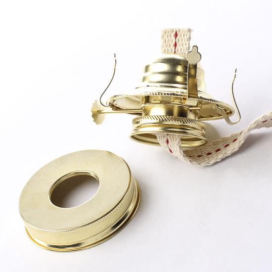 Mason Jar Oil Lamp Kit Lamp Making Basic Craft