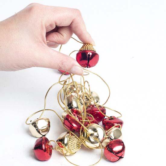 Gold Christmas Garland