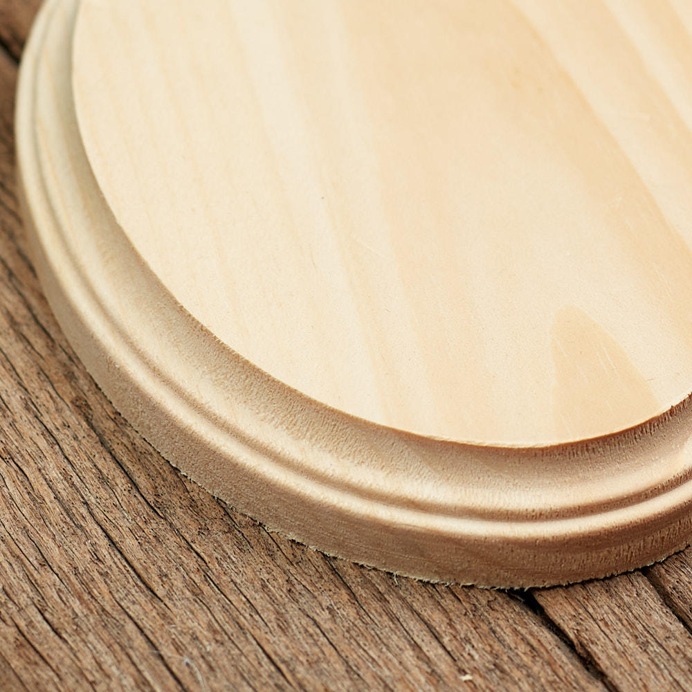 Unfinished oval wooden plaque wooden plaques and signs for Wood plaques for crafts
