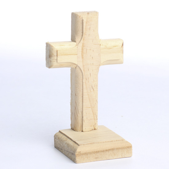 Standing Wood Crosses