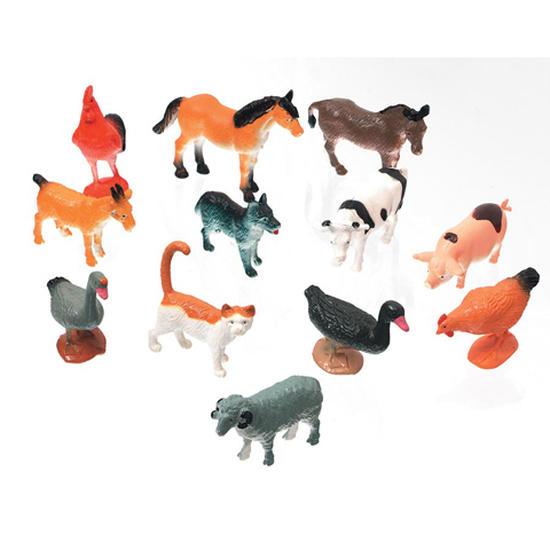 Miniature Farm Animals Animal Miniatures Dollhouse