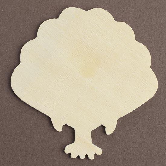 Unfinished wood turkey cutout wood cutouts unfinished for Wood cutouts for crafts