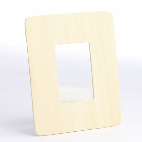 Unfinished Wood Picture Frame Cutout - Wood Cutouts - Wood Crafts ...