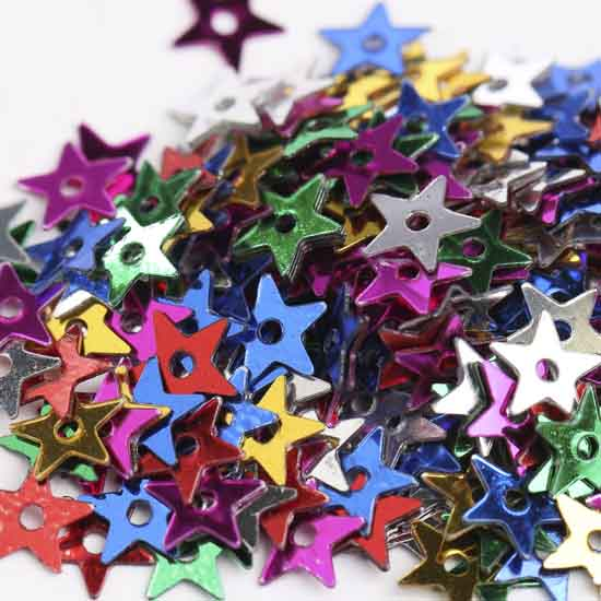 Assorted Tiny Star Sequins
