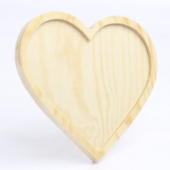 Unfinished wood heart wooden plaques and signs for Wooden craft supplies online